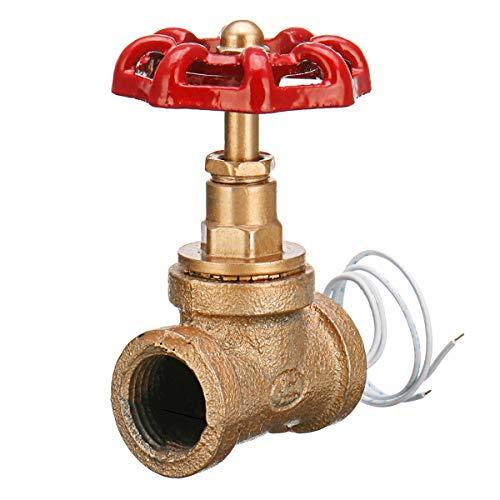 Interruptor de Luz Steampunk Interruptor de Luz Steampunk de Luz de Tubería de Agua Industrial Gojiny con Cable
