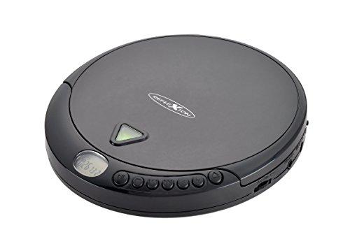 Reflexion PCD500MP Tragbarer CD-Player CD, CD-R, CD-RW, MP3 Schwarz
