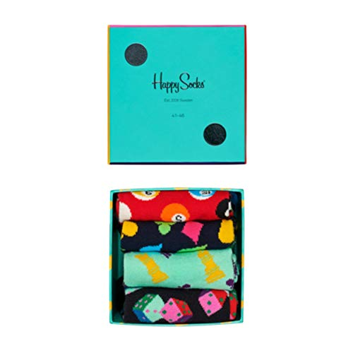 Happy Socks Geschenkbox GAME NIGHT GIFT BOX XGAM09-6300 Mehrfarbig, Size:36-40