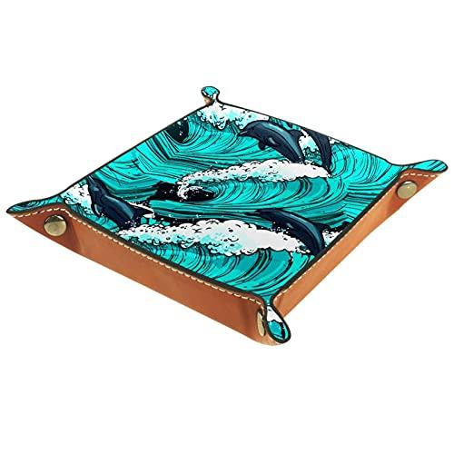 MUMIMI Bandeja de regalo para mujer, diseño de delfín