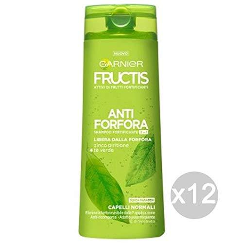 Fructis 12er Set Anti-Schuppen Shampoo 2/1 l 250 Pflege und Haarbehandlung Mehrfarbig