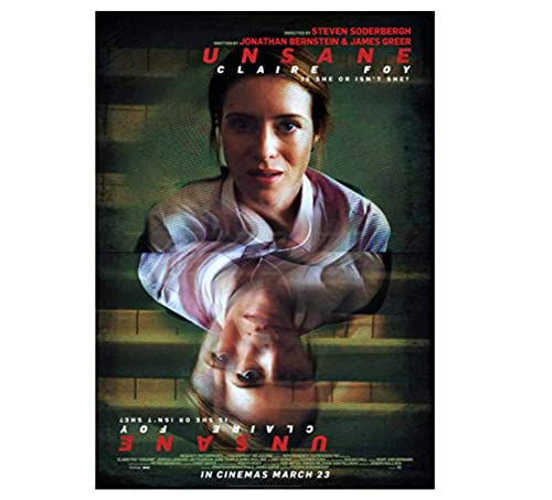 weihuobu Unsane (2018) Movie Classic Movie Posters and Prints Wall Art Canvas Painting for home decoration-50x70cm No Frame