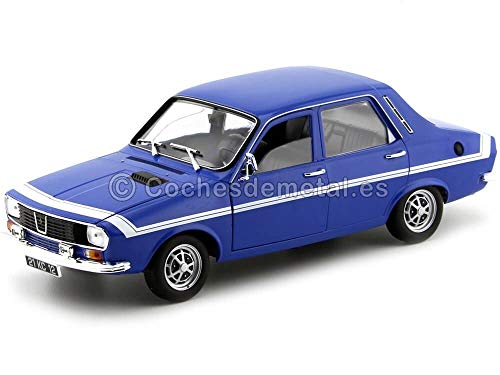 Outletdelocio. Norev 185210. Coche Renault 12 Gordini 1971 Azul. Escala 1/18. Metalico