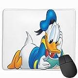 Alfombrilla De Ratón para Juegos Regalo Bonito De Dibujos Animados, Alfombrilla De Goma Antideslizante para Ordenador De Escritorio Y Portátil-Libro de Lectura del Pato Donald de Disney