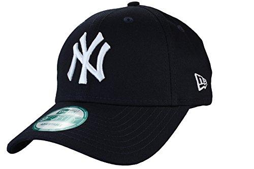 New Era New York Yankees 940 Adjustables Navy/White - One-Size