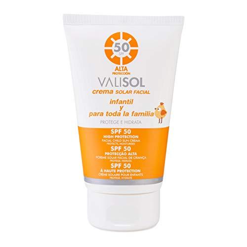 Valisol crema solar facial infantil SPF...