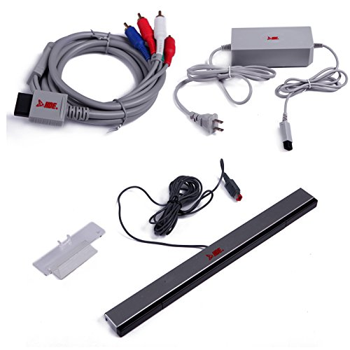 HDE Accessories for Wii Wii U Co...