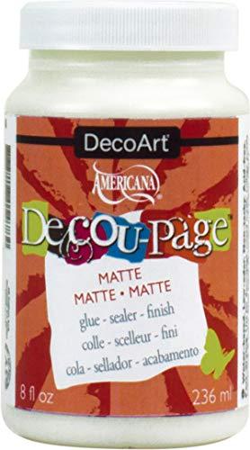 Deco Art Pegamento Decou-Page Americana, 236ml, Mate, Multicolor, Otro