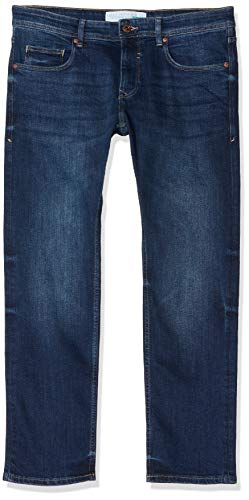 ESPRIT Herren 998EE2B808 Straight Jeans, Blau (Blue Medium Wash 902), W36/L34