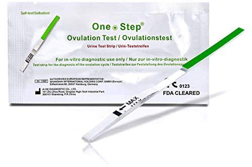 30 x One Step Ovulation Strips 20miu/ml Test Kit Sensitive Fertility Predictor Testing Sticks (Wide Width)