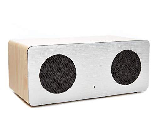 Pine & Metal Bluetooth Speaker