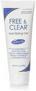 Free & Clear Hair Styling Gel, For Sensitive Skin & Scalp 7 fl oz (198 g)
