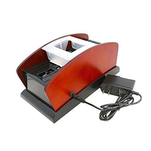 DMDMJY Professional Card Shuffler, High-Speed Automatic 1-2 Decks Spielkarten Spiele Shuffler, Elektrische Shuffler Für Heim & Turnier Verwendung Für Classic Poker