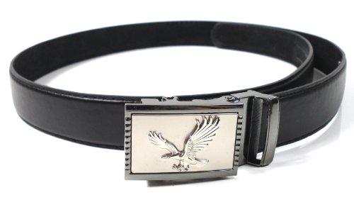 Ceinture avec boucle de ceinture automatique Aigle - Noir - 135 cm taille
