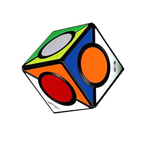 Ludokubo Six Spot Cube Base Negra - Qiyi