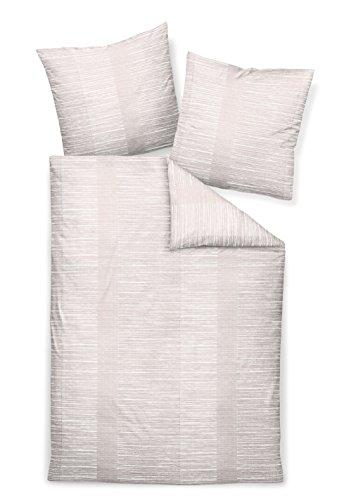 Janine Design Edelflanell Bettwäsche Chinchilla S 76010-07 1 Bettbezug 135 x 200 cm + 1 Kissenbezug 80 x 80 cm