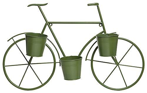 zeitzone Wand Blumentopf Pflanztopfhalter Fahrrad Deko Vintage