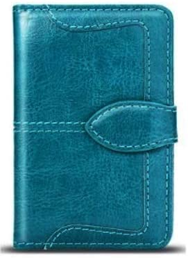 Universal Adhesive Wallet/Card Holder, Credit Card Holder for Back of Phone Pocket 3M Adhesive Sticker Card Pouch Sleeve for iPhone/Samsung Galaxy and Most Smartphones (Solid Teal)