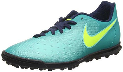 Nike Herren Magista Ola II TF Fußballschuhe, Türkis (Rio Teal/Volt-Obsidian-Clear Jade), 40.5 EU