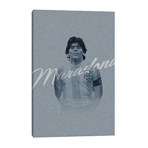 Diego Maradona Wall Art Poster Set decoración del hogar para la Sala de Estar 40x60 sin Marco