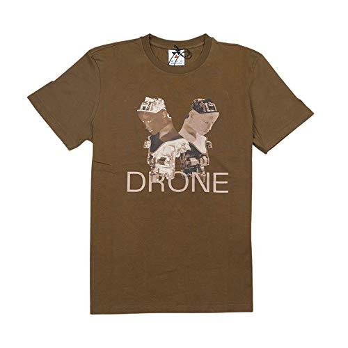 Woc Drone Tee T-Shirt Uomo TH 124 Dr MSK Muschio (L)