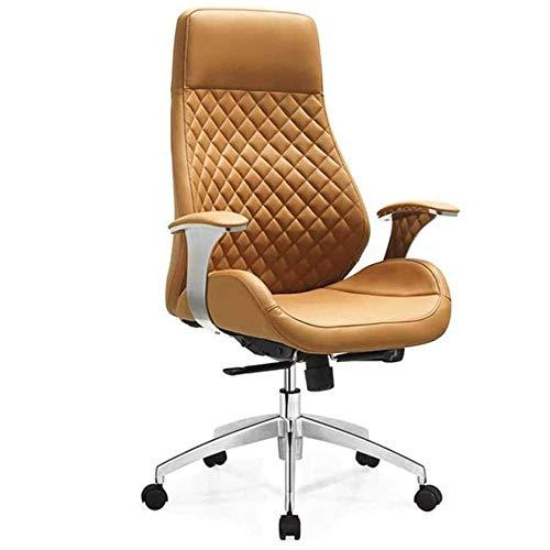 Angelay-Tian Sedia da Ufficio ergonomica, Moderno Sedia da scrivania Alto Sedia Girevole