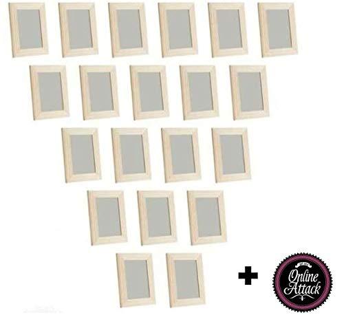 Online Attack 20x IKEA Albrunna Set Bilderrahmen 10x15 Natur Holz Kiefer Foto/Deko/Basteln …