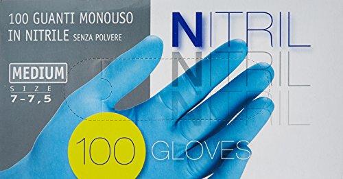 guanti medici Guanti Ico Nitrile X 100 Medi