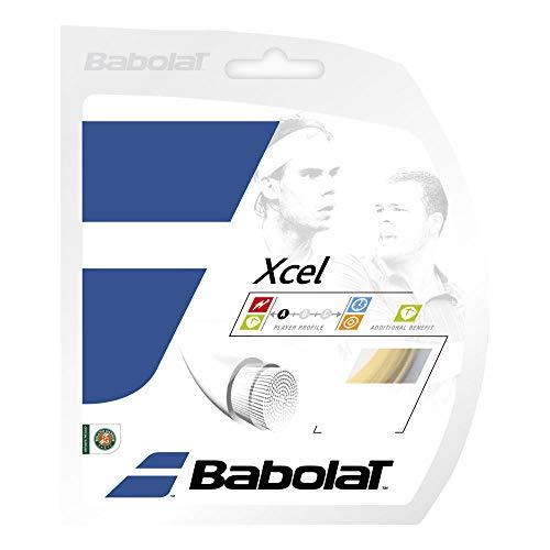 Babolat XCEL 12M Cordaje, Adultos Unisex, Bleu (Azul), 120