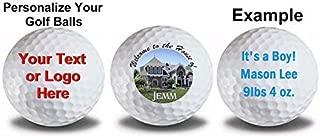 Titleist 1 Dozen Pro V1 Custom Logo Refinished Mint Golf Balls