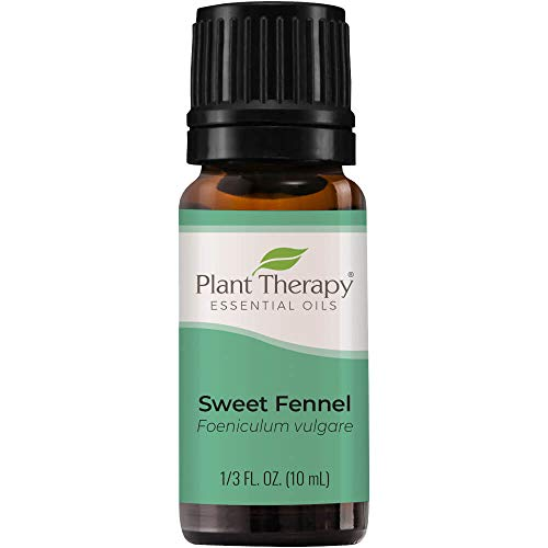 Plant Therapy Sweet Fennel Essential Oil 10 mL (1/3 oz) 100% Pure, Undiluted, Therapeutic Grade