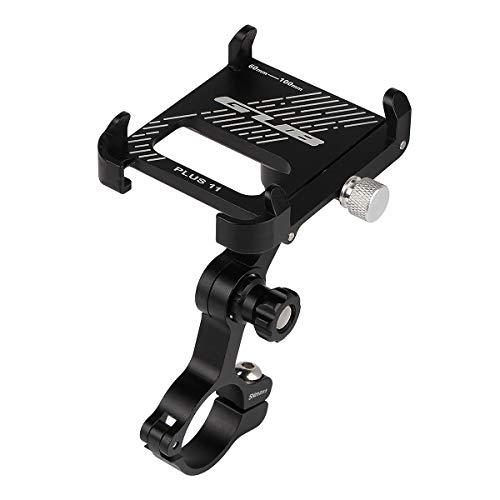 GUB PLUS11 Universal e-Bike Fahrrad Motorrad Halterung für Handy, Smartphone, Navi usw. Schwarz