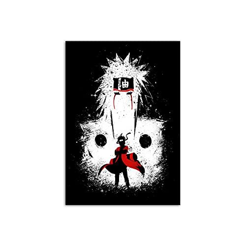PENGDA Anime Canvas Wall Art for Naruto Poster Uchiha Picture Mural Modular Living Room Bedroom Home Decoration No Framed 8.4x12inches