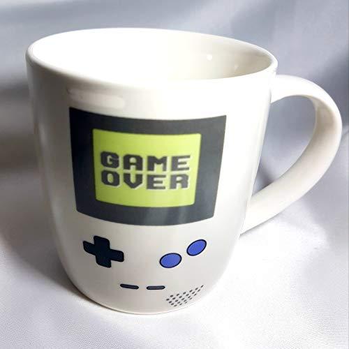 Taza Mug Ceramica Gamer Con Asa 10 cm (Blanco)