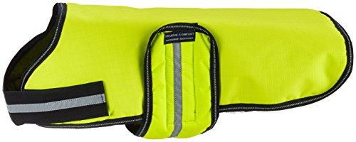 Knuffelwuff 13873-007 Hundemantel Funktionstextil reflektierend Neon, 40 cm