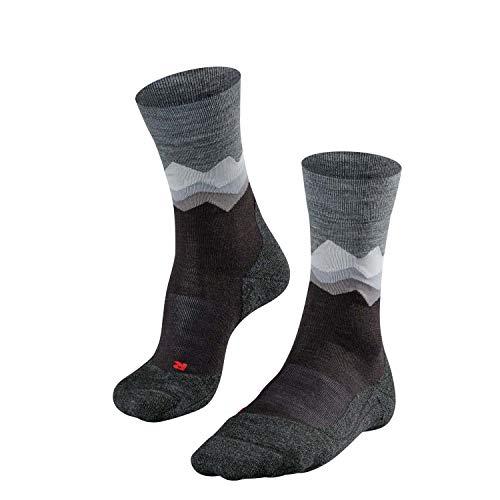 FALKE Herren TK2 Crest Trekking Socken, Black, 42-43