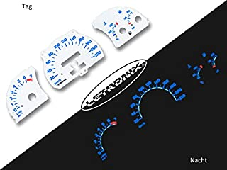 LETRONIX Plasma Tacho Tachoscheiben geeignet für Auto Astra F Vectra A 20 220Km/h 7000U/Min