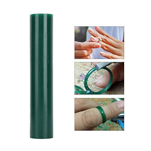 Wachsring Tube Green Wax Tube Flache Seite Schmuckring Herstellung Gravur Werkzeug Zubehör für Schmuck Gravur Herstellung Zubehör Schmuck In Scheiben geschnitten Carving Wax Modellierung(T-1062E)