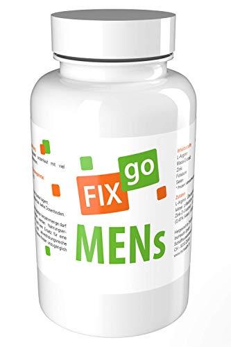 FIXgo MENs | Producción de esperma & Virilidad en el hombre | Vegano