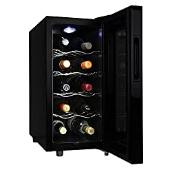Koolatron KWT10BN – 10 Bottle Wine Cooler