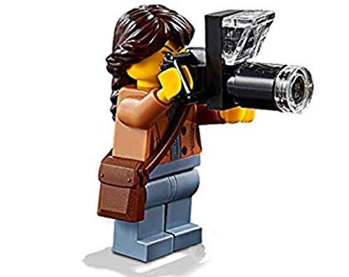 LEGO 60202 Minifigura para Exteriores: fotógrafo Natural (Foto con cámara de Lente Larga)