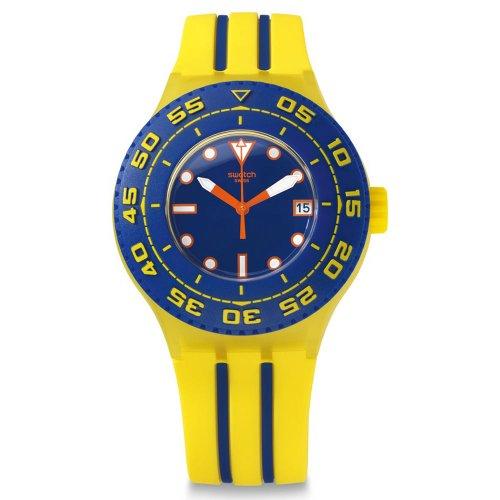 Reloj Swatch amarillo de hombre