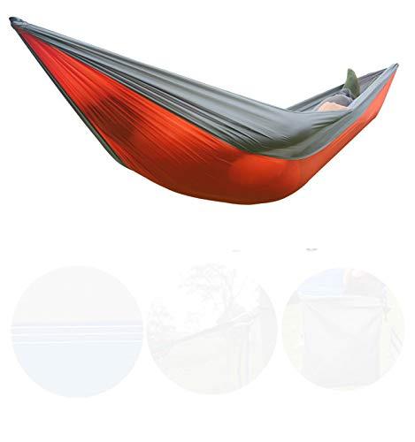 CHUNYU Hamaca portátil Doble Camping Supervivencia jardín Caza Ocio Viajes Muebles paracaídas Hamaca cinturón