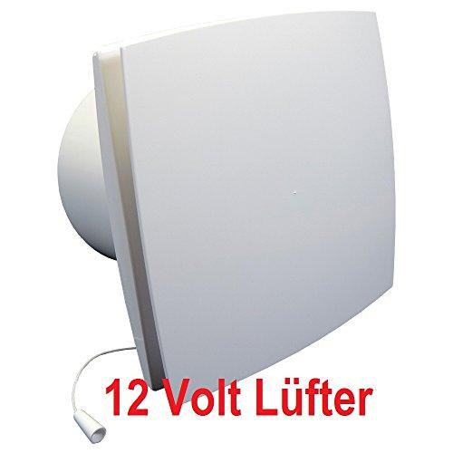 Badlüfter 12V,Lüfter,Kleinlüfter,Ventilator,WC-Lüfter,Belüftung,dalap® BFLZ12