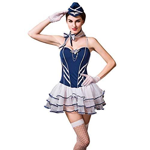 Frauen Erotik Bekleidung Frauenkleidung Sexy sexy Unterwäsche Spitzenrock Hometown Uniform Verführerische Versuchung Sexy extreme freie Größe Sexy Kostüme (Size : FREE size)