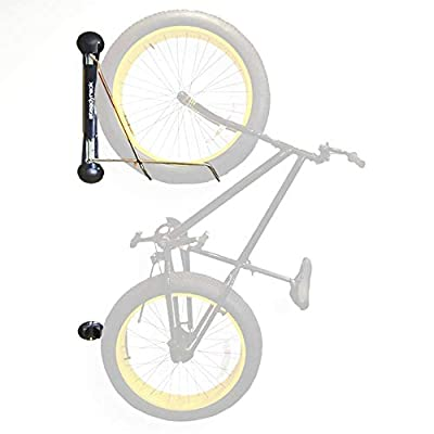 Steadyrack Bike Rack - Wall Mounted Bike Storage Solution for your Home, Garage or Commercial Application. Easy Install. Swings 180 degrees for More Floor Space - Fat Tire Bike Rack