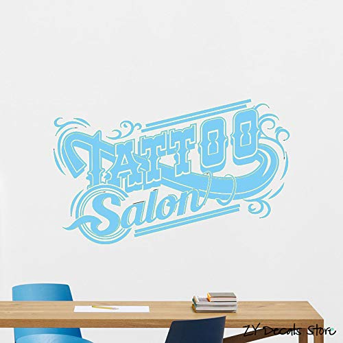 Tattoo Studio Wall Decal Machine Salon Poster Vinyl Sticker