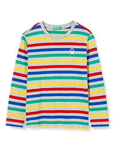 United Colors of Benetton 3AVEC14QM Camiseta, Multicolor 901, XL para Niños
