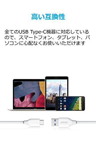Anker『PowerLineUSB-C&USB3.0ケーブル(A81630)』
