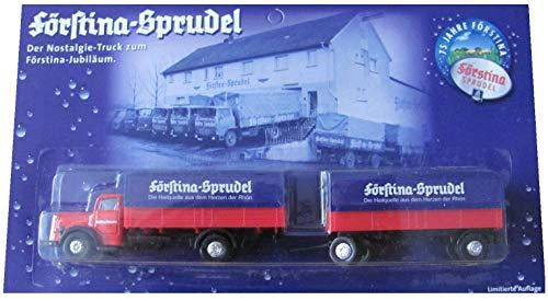 Förstina Sprudel Nr.07 - 75 Jahre Förstina - MB 6600 - Hängerzug Oldie